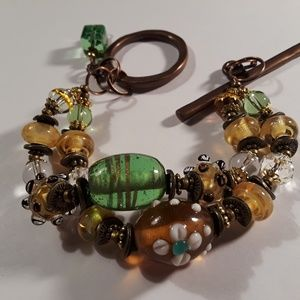 Bronze 2 Strand bracelet